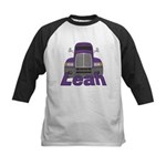 Trucker Leah Kids Baseball Jersey