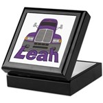 Trucker Leah Keepsake Box
