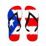 Puerto Rican Flag Flip Flops Flip Flops