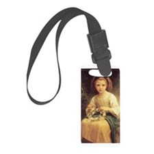 Daisy Crown Luggage Tag