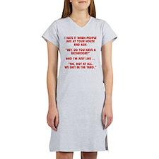 Do You Have A Bathroom? Women's Nightshirt