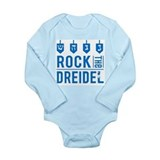 Cute Hanukkah Long Sleeve Infant Bodysuit