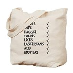 murmaider checklist Tote Bag