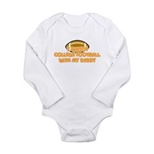 Funny Daddy daughter Long Sleeve Infant Bodysuit