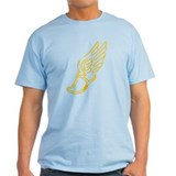 Golden Running Shoe T-Shirt