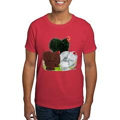 Frizzle Cochin Trio Dark T-Shirt