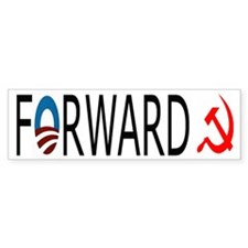 Forward to Socialism Bumper Sticker