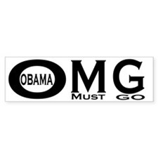 OMG bumper sticker Bumper Sticker