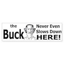 the buck copy.png Bumper Sticker