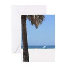 Clearwater Beach day Greeting Card
