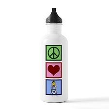 Peace Love Lifeguard Water Bottle