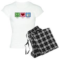 Peace Love Midwife Pajamas