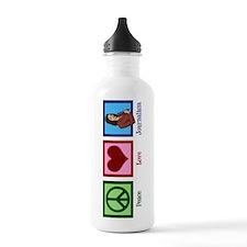 Peace Love Journalism Water Bottle