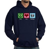 Peace Love Radiology Hoody