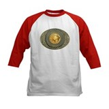 Indian gold oval 2 Tee