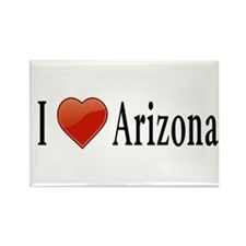 I Love Arizona Rectangle Magnet (10 pack)