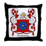 Trebnitz Coat of Arms Throw Pillow