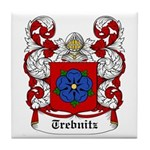 Trebnitz Coat of Arms Tile Coaster