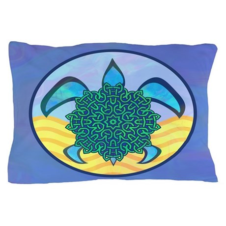 Knot Turtle Pillow Case