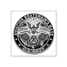 USN Aviation Boatswains Mate Eagle Rate Square Sti