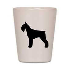 Giant Schnauzer Shot Glass