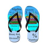 Math Teacher 7.PNG Flip Flops