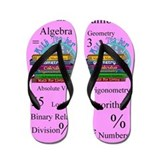 Math Teacher 3.PNG Flip Flops