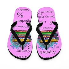 Math Teacher 3.PNG Flip Flops