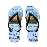 Math Teacher.PNG Flip Flops