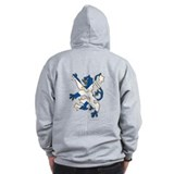 100 percent pure Scotland fun design Zip Hoodie