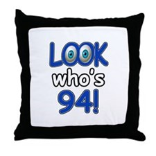 Look who's 94 Throw Pillow