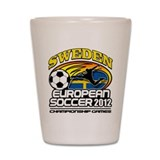 Sweden Fotboll 2012 Shot Glass