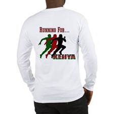 Kenya Running Long Sleeve T-Shirt