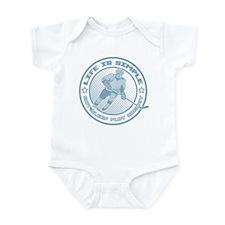 Eat, Sleep, Play Hockey Infant Bodysuit