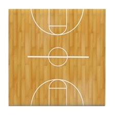 Basketball Court Tile Coaster