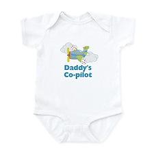 Daddy's Co-pilot Boy's Baby Bodysuit
