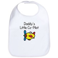 Daddy's Little Co-pilot Baby Bib