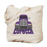 Trucker Loretta Tote Bag