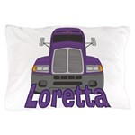 Trucker Loretta Pillow Case