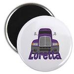 Trucker Loretta Magnet