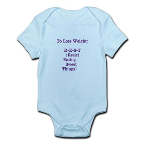 lose weight Infant Bodysuit