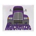 Trucker Mackenzie Throw Blanket
