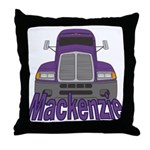 Trucker Mackenzie Throw Pillow