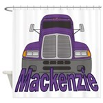 Trucker Mackenzie Shower Curtain