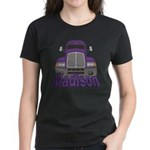 Trucker Madison Women's Dark T-Shirt