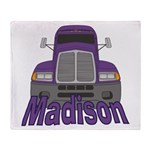 Trucker Madison Throw Blanket