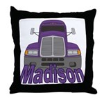 Trucker Madison Throw Pillow