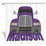Trucker Madison Shower Curtain