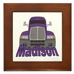 Trucker Madison Framed Tile