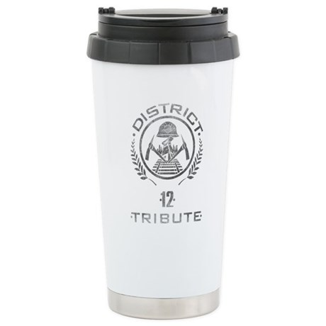 District 12 Tribute Ceramic Travel Mug